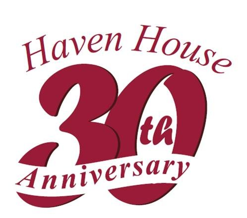 Haven House 30th Anniversary Logo